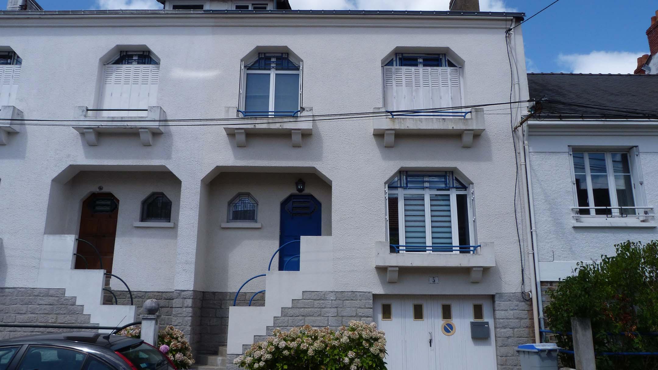 Extérieur de l'école La Langue Française autour du Monde à Nantes