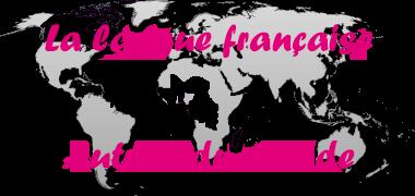 Logo de la langue française autour du monde