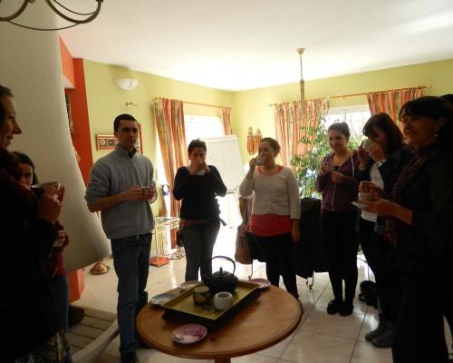 Un cours convivial de Français avec des étrangers