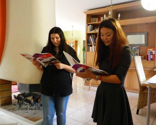 Cours ludique de français avec étrangers